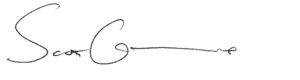 Scott Gunn's signature