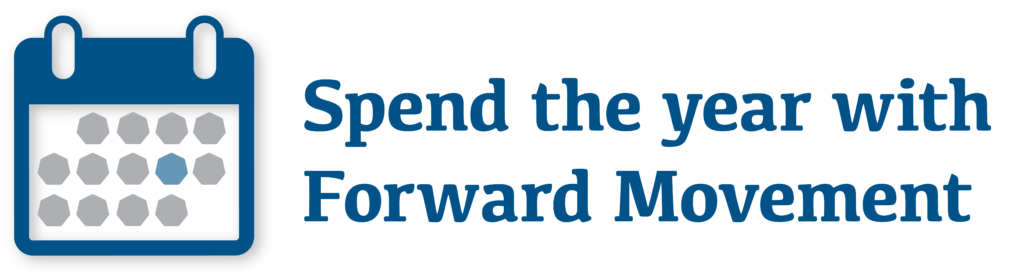 Spend the year with Forward Movement calendar GRAPHIC